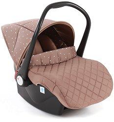 Бебешко кошче за кола - Dotty - За бебета от 0 месеца до 13 kg - пюре