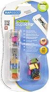 Диспенсър за клипсове - Supaclip 40 - Комплект с 25 броя цветни клипса