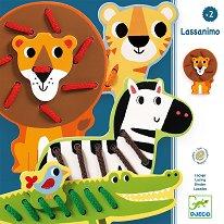 Довърши животните - Lassanimo - Творчески комплект -