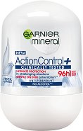 "Garnier Mineral Action Control+ Anti-Perspirant Roll-On - Ролон дезодорант от серията ""Deo Mineral Action Control+"" - ролон"