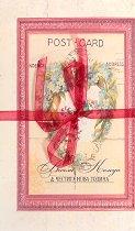 Поздравителна картичка - Весела Коледа и Честита Нова Година -