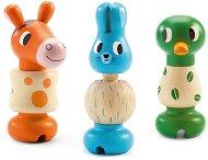 Животни - Rondanimo - Дървени играчки за сглобяване -