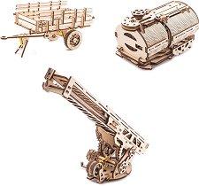 Ремарке, цистерна и противопожарна стълба - Комплект аксесоари за Камион - UGM-11 -