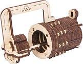 Катинар с код - Механичен 3D пъзел -