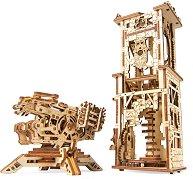 Кула с арбалет - Механичен 3D пъзел -