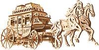 Дилижанс - Механичен 3D пъзел -