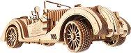 Автомобил - Roadster VM-01 - Механичен 3D пъзел -