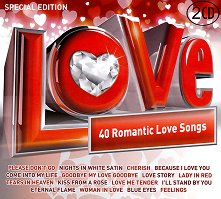 40 Romantic Love Songs - 2 CD - Special Edition - албум