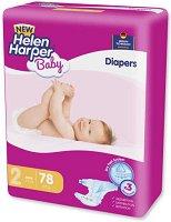Helen Harper Baby New 2 - Mini - Пелени за еднократна употреба за бебета с тегло от 3 до 6 kg -