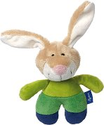 "Зайче - Мека бебешка играчка от серията ""Blue Collection"" - играчка"