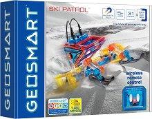 Снегоход - Магнитен конструктор с дистанционно управление -