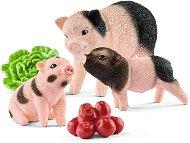 """Прасенца - Комплект фигури и аксесоари от серията """"Животните от фермата"""" - фигура"""