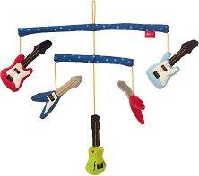 """Музикални инструменти - Мека бебешка играчка за закачане от серията """"Papa and Me"""" -"""