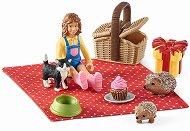 """Пикник парти - Комплект фигури и аксесоари от серията """"Животните от фермата"""" -"""