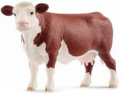 """Херефорд - крава - Фигура от серията """"Животните от фермата"""" - фигура"""