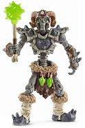 """Каменен скелет с оръжие - Фигура от серията """"Митични създания"""" - играчка"""