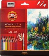 Акварелни цветни моливи - Монделуз