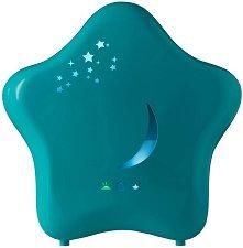 Ултразвуков овлажнител за въздух с нощна лампа - Moony - Аксесоар за детска стая -