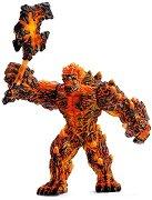"""Лава воин с оръжие - Фигура от серията """"Митични създания"""" - играчка"""