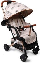 Лятна бебешка количка - Mini - С 4 колела -
