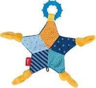 """Звезда - Мека бебешка играчка с дъвкалка от серията """"PlayQ"""" -"""