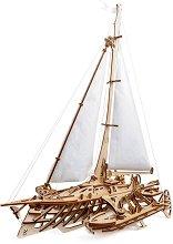 Тримаран - Механичен 3D пъзел -