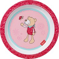 Детска меламинова чиния - Мечето Bellarella -