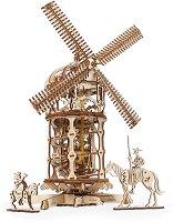 Вятърна мелница - Механичен 3D пъзел -