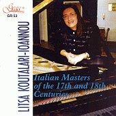 Litsa Koutalari-loannou - Italian masters - 17th, 18th centuries - албум