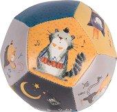 """Мека топка - Мустакатковци - Мека бебешка играчка от серията """"Les Moustaches"""" - играчка"""