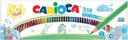 Цветни моливи - Tita Rainbow Set - Комплект от 50 цвята