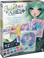 Оцветявай с акварелни бои - Marinia - Творчески комплект - играчка