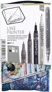 Тънкописци - Graphik Line Painter - Комплект от 5 цвята в калъфче