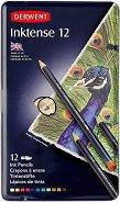 Акварелни моливи - Inktense - Комплект от 12, 24, 36 или 72 цвята в метална кутия
