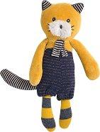 """Коте - Lulu - Мека бебешка играчка от серията """"Les Moustaches"""" - играчка"""