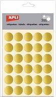 Самозалепващи стикери - Кръгове - Комплект от 90 броя