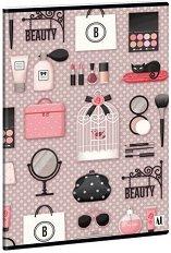 Ученическа тетрадка - Beauty : Формат А5 с широки редове - 40 листа -