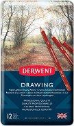 Цветни моливи - Drawing - Комплект от 12 или 24 цвята в метална кутия
