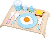 Закуска - Детски комплект за игра от дърво -