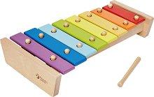 Ксилофон - Детски музикален инструмент от дърво -