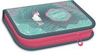 Несесер с ученически пособия - Pink flamingo - несесер