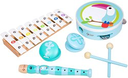 Детски дървени музикални инструменти - Тукан - играчка