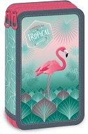 Ученически несесер - Pink flamingo - несесер