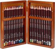 Цветни моливи - Coloursoft - Комплект от 24 или 48 цвята в дървена кутия