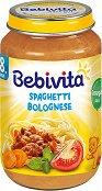 Bebivita - Пюре от спагети болонезе - Бурканче от 220 g за бебета над 8 месеца - продукт