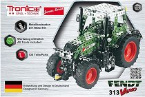"Трактор - Fendt 313 Vario - Метален конструктор от серията ""Tronico: Junior-Series"" -"
