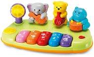 Пиано - Бандата на джунглата - Бебешка музикална играчка - играчка