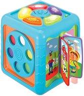 Активен куб - Бебешка музикална играчка -