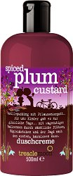 Treaclemoon Spiced Plum Custard Bath & Shower Gel - Душ гел и пяна за вана в едно с аромат на сладки сливи -