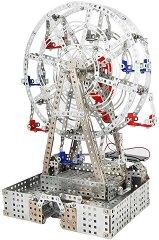 """Виенско колело - Метален конструктор със соларно задвижване от серията """"Tronico: Profi-Series"""" - творчески комплект"""